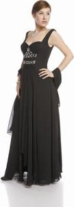Sukienka Fokus rozkloszowana z dekoltem w kształcie litery v