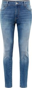 Niebieskie jeansy Review z jeansu