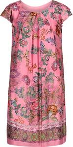 Sukienka Betty Barclay z krótkim rękawem z okrągłym dekoltem w stylu casual