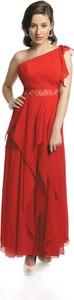 Sukienka Fokus w stylu glamour bez rękawów maxi