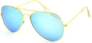 Niebieskie okulary damskie Birreti