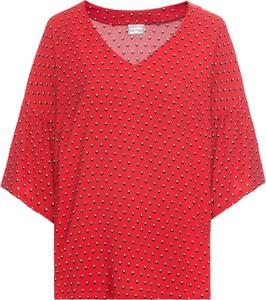 Czerwona bluzka bonprix BODYFLIRT