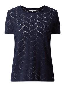 Granatowa bluzka Tom Tailor Denim w stylu boho