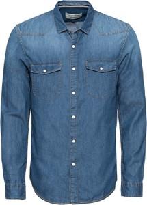 Niebieska koszula Tom Tailor Denim z jeansu