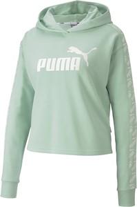Zielona bluza Puma krótka
