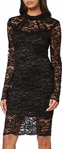 Sukienka amazon.de prosta z okrągłym dekoltem