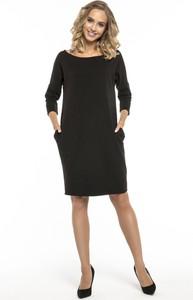 881857d528 skromna czarna sukienka - stylowo i modnie z Allani