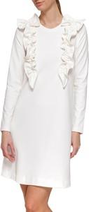 Sukienka Yuliya Babich z okrągłym dekoltem w stylu casual mini
