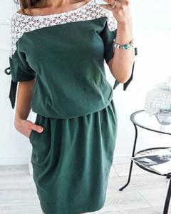 Zielona sukienka Kendallme mini