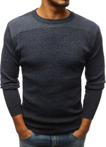 Niebieski sweter Dstreet
