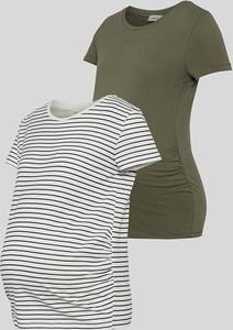 YESSICA C&A Ciążowy T-shirt-2 szt., Biały, Rozmiar: XS