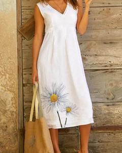 Sukienka Kendallme na ramiączkach z bawełny midi