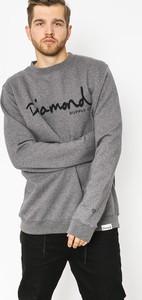 Bluza Diamond Supply Co. w młodzieżowym stylu z bawełny