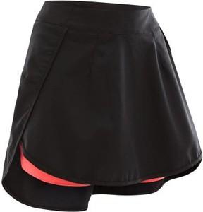 Czarna spódnica Rockrider w sportowym stylu