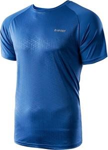 T-shirt Hi-Tec w stylu casual w geometryczne wzory z krótkim rękawem