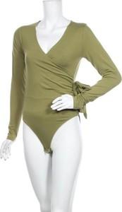 Zielona bluzka Little Mistress z długim rękawem