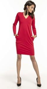 Sukienka Tessita z bawełny w stylu casual dopasowana