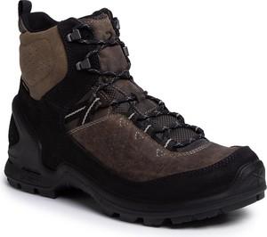 Brązowe buty trekkingowe Ecco
