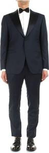 Niebieski garnitur Kiton
