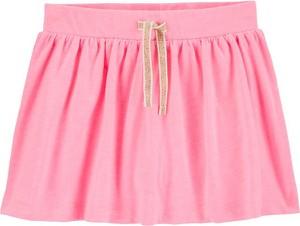 Różowa spódniczka dziewczęca OshKosh z bawełny