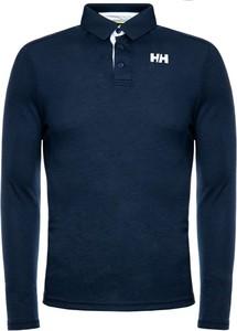 Granatowa koszulka polo Helly Hansen