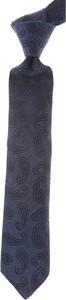 Niebieski krawat Borrelli