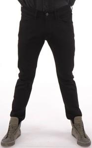 Czarne jeansy Wrangler w stylu casual z jeansu