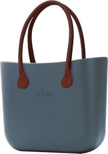 Niebieska torebka O Bag na ramię