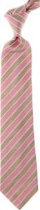 Różowy krawat Isaia