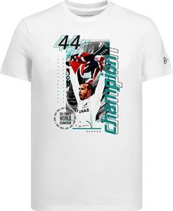T-shirt Mercedes Amg Petronas F1 Team z nadrukiem