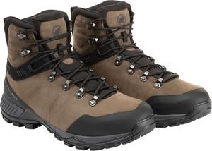 Brązowe buty trekkingowe Mammut