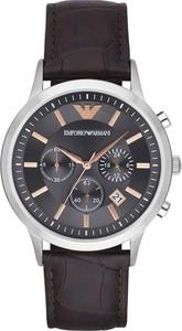 Zegarek EMPORIO ARMANI - Renato AR2513 Dark Brown/Silver/Steel