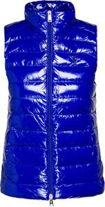 Niebieska kamizelka POLO RALPH LAUREN krótka