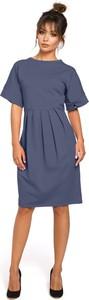 Sukienka BeWear z krótkim rękawem