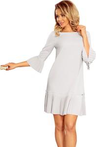Sukienka Coco Style z długim rękawem w stylu casual