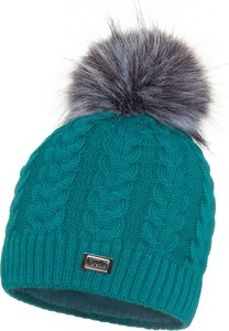 Turkusowa czapka JK Collection