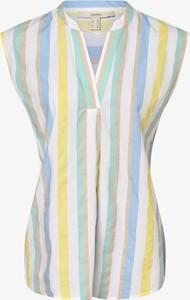 Bluzka Esprit z krótkim rękawem z bawełny