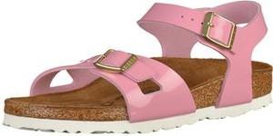 Różowe buty dziecięce letnie birkenstock