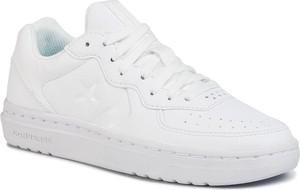 Buty sportowe Converse z płaską podeszwą ze skóry ekologicznej