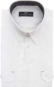Koszula giacomo conti z lnu z długim rękawem