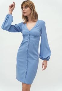 Niebieska sukienka Nife