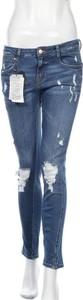 Niebieskie jeansy Zara Trafaluc