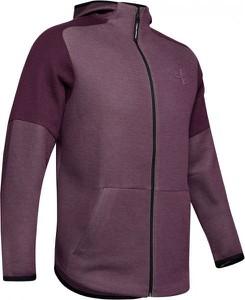 Czerwona bluza Under Armour z tkaniny