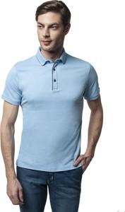Niebieski t-shirt Recman