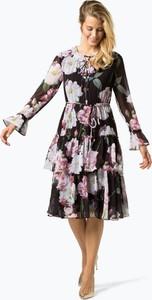 Sukienka Ted Baker midi z okrągłym dekoltem