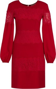 Sukienka Twinset z długim rękawem z okrągłym dekoltem