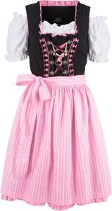 Różowa sukienka bonprix bpc bonprix collection