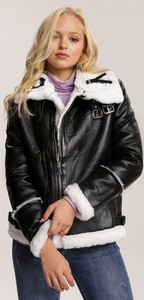 Czarna kurtka Renee krótka