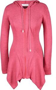 Różowa tunika Fokus w stylu casual