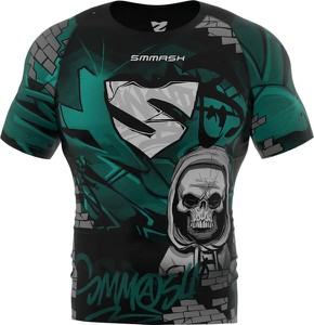 T-shirt Smmash z nadrukiem